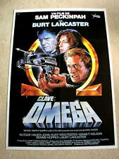 OSTERMAN WEEKEND Original Movie Poster BURT LANCASTER SAM PECKINPAH RUTGER HAUER