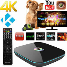 Q-BOX Smart TV Box HDMI 4K S905 Quad-Core Wifi BT Android 5.1 KODI 16.0 2G + 8G