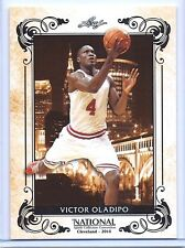 "VICTOR OLADIPO 2014 LEAF ""NATIONAL SPORTS CONVENTION"" RETRO ROOKIE CARD! INDIANA"