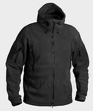HELIKON TEX PATRIOT HEAVY FLEECE Jacket Outdoor Hooded Jacket black XS XSmall
