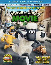 Shaun The Sheep Movie Blu-ray. Ex-Rental. No DVD. No Digital Copy.