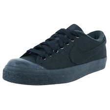 NIB NIKE Mens 9 ALL COURT SP / A.P.C. BLACK CANVAS CASUAL LIFESTYLE SHOES $75