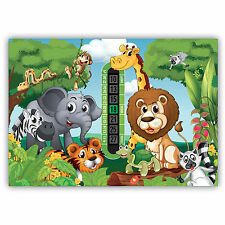 A5 Nursery and Childrens Jungle Room Thermometer