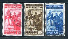 VATIKAN 1935 48-50 gest 95€(J2554