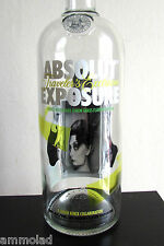 Rare ABSOLUT Vodka Limited Edition Exposure Johan Renck Design Huge Empty Bottle