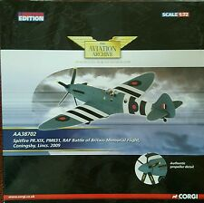Corgi Aviation Spitfire PR.XIX PM631 RAF Battle of Britain AA38702  1:72 NEW