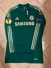 RARE CHELSEA CECH PLAYER ISSUE TECHFIT SHIRT SIZE 11,12 JERSEY EUROPA FINAL