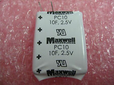 MAXWELL ULTRA CAPACITORS (PC10-270 SERIES) 2.5V 10F (38 PCS)
