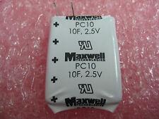 MAXWELL ULTRA CAPACITORS (PC10-270 SERIES) 2.5V 10F (38 PCS)