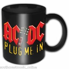 OFFICIAL LICENSED ACDC PLUG ME IN BOXED COFFEE MUG AC/DC CUP DRINK