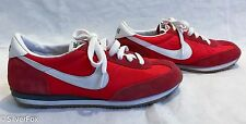 """Womens Nike Oceania Vintage """"Red Leather Suede"""" Size US 8.5 [ 307165-600"""