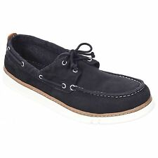 Timberland Hookset Boat Shoes Black Big Mens UK Size 12.5