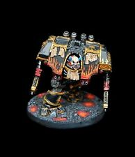 Warhammer 40K Chaos Space Marines Dreadnought 1 original PRO PAINTED resin mini