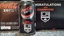 Coke Zero Cola LA Kings 2014 NHL Stanley Cup Champs Aluminum Can Limited Edition