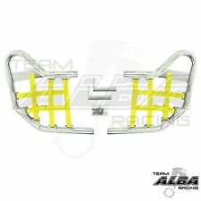 Banshee YFZ 350 YFZ350  Nerf Bars  Alba Racing  Silver bar Yellow nets 207 T1 SY