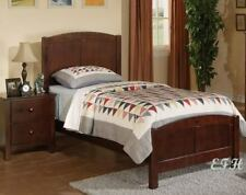 NEW COTTAGE STYLE BEAD BOARD RICH CHERRY WOOD TWIN BED