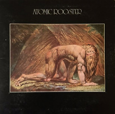 ATOMIC ROOSTER -  Death Walks Behind You (LP) (G++/VG-)