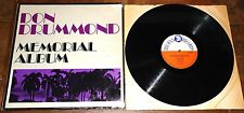 DON DRUMMOND ~ MEMORIAL ALBUM ~ UK TROJAN SKA LP 1969