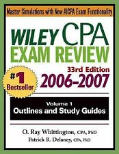 Wiley CPA Examination Review 2006-2007, Vol. 1: Outlines and Study Gui-ExLibrary
