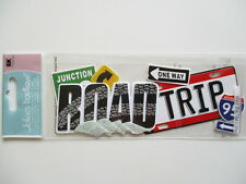 Jolee's Boutique 3D Title Stickers - Road Trip - signs  car travel