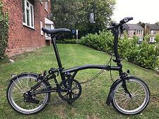 BROMPTON S2L BLACK EDITION  S-TYPE  WORLDWIDE P&P