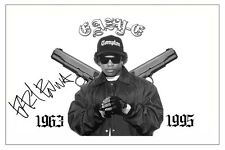 EAZY-E NWA SIGNED PHOTO PRINT AUTOGRAPH STRAIGHT OUTTA COMPTON EXPRESS YOURSELF