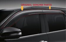 NEW TOYOTA FORTUNER GENUINE PARTS SUN VENT VISOR WEATHER PROTECT GUARD 2015-2016