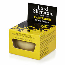 WOOD BALSAM 75ml LORD SHERATON  BEESWAX LINSEED OIL FURNITURE POLISH 8400620104