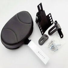 PLUG IN DRIVER RIDER BACKREST KIT FOR KURYAKYN TOURING HARLEY FLHT FLTR FLHX FLH