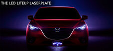 THE LED LITEUP LASERPLATE - Custom License Plate - CustomPlatesandHitch.com