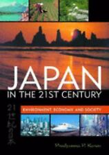 Japan in the 21st Century: Environment, Economy, and Society-ExLibrary
