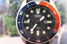 Sporty, Mid-Size 38mm Pepsi Bezel Seiko Divers 4205-015T Date Men's/Ladies Auto