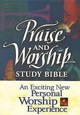 Praise and Worship Study Bible NLT by