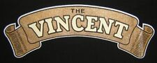 TEE SHIRT VINCENT H.R.D TAILLE XXL RECTO VERSO