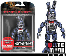 """FUNKO FIVE NIGHTS AT FREDDY'S NIGHTMARE BONNIE 5"""" ACTION FIGURE 11844 - IN STOCK"""