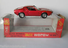 Alfa Romeo Montreal 1/43 Diecast Model Norev # 816 With Original Box