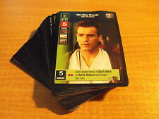 STAR WARS YOUNG JEDI DUEL OF THE FATES COMPLETE MASTER SET (no URs)