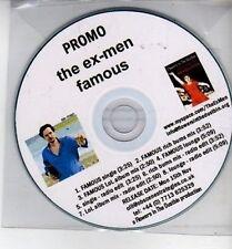 (CH862) The Ex-Men, Famous - 2010 DJ CD