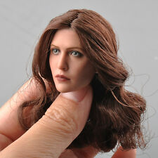 Female Head Model 1/6 Scale Scarlet Witch Wanda Head Sculpt F 12'' HT Body