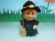 "HALLOWEEN WITCH - 5"" Russ Troll Doll - EXCELLENT CLEAN CONDITION"