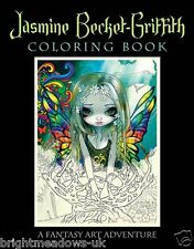 Jasmine Becket Griffith Adult Colouring Book Fantasy Fairytale Becket-Griffith