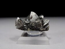 Rare Tetrahedrite Crystal Specimen with Silver Luster #4