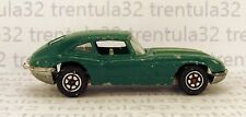Vintage JAGUAR E-TYPE DARK GREEN SPORTS CAR 1:64 SCALE DIECAST CHINA RARE LOOSE
