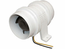 "MARINE 3"" ELECTRIC IN-LINE BLOWER FOR BOATS & RVs - 12V – ATTWOOD Turbo 3000"