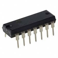 INTEGRATO CMOS 4007  - Dual complementary pair + 1NOT gate 14 dip