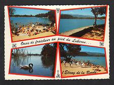 ETANG DE LA BONDE (84) BAIGNADE & PEDALOS animé Période 1960