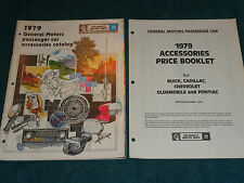 1979 PONTIAC / CHEVROLET / BUICK / CADILLAC / OLDS PICTURED ACCESSORIES CATALOG
