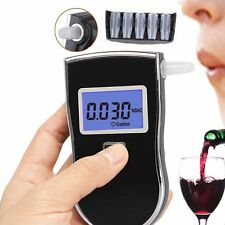 Advanced Police Digital Breath Alcohol Tester Breathalyzer Analyzer Detector#X8