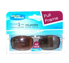 Solar Shield Polarized Clip On Fit Over Rec 48-5