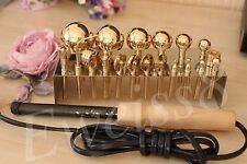 19 High Quality Professional Millinery Flower Making Tools Brass+ Soldering iron